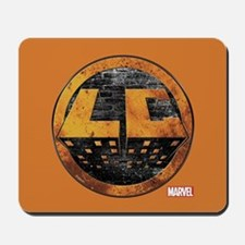 Luke Cage Grunge Icon Mousepad