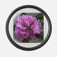 Cute Plant Large Wall Clock
