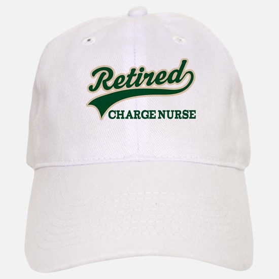 Retired Charge Nurse Baseball Baseball Cap