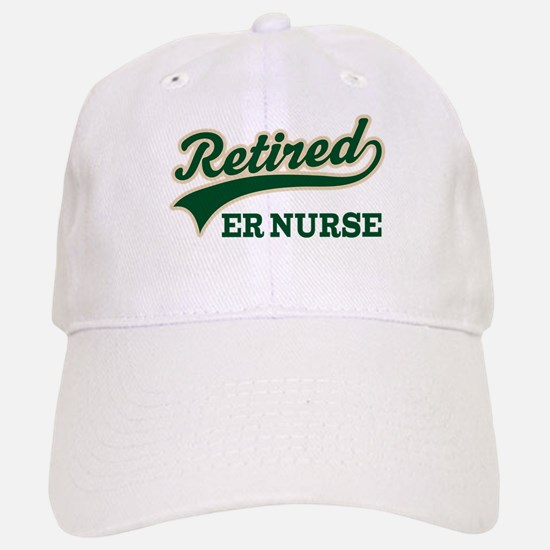 Retired ER Nurse Baseball Baseball Cap