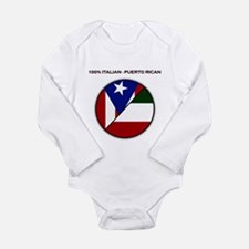 Italian / Puerto Rican Infant Creeper Body Suit