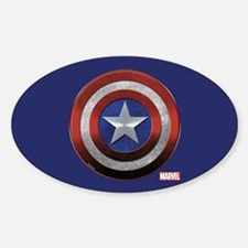 Captain America Grunge Decal