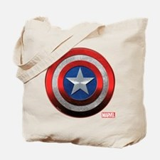 Captain America Grunge Tote Bag