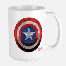 Captain America Grunge Large Mug