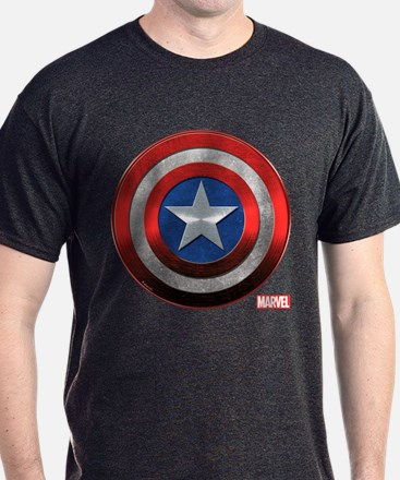 Captain America Grunge T-Shirt