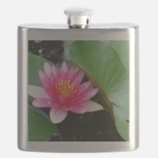 Cute Water lilies Flask
