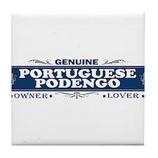 PORTUGUESE PODENGO Tile Coaster