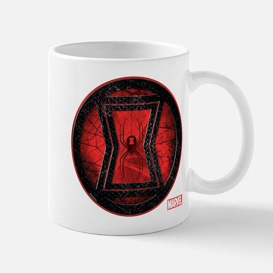 Black Widow Grunge Icon Mug