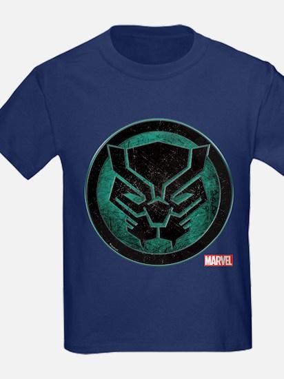 Black Panther Grunge Icon T