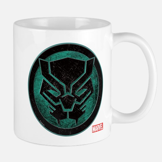 Black Panther Grunge Icon Mug