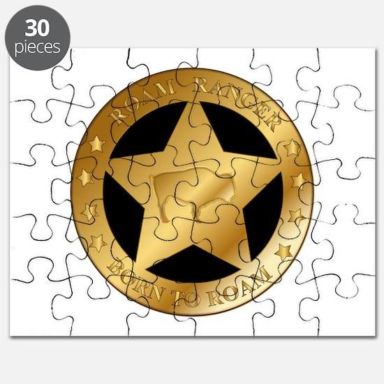 Roam Ranger Bison Puzzle