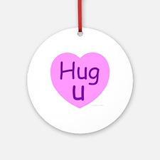 Hug U Candy! Ornament (Round)