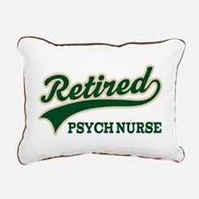 Retired Psych Nurse Rectangular Canvas Pillow