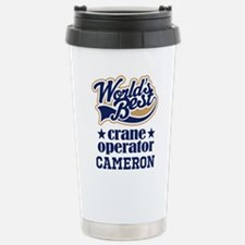 Crane Operator Personalized Gift Travel Mug
