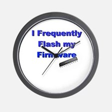 Flash Firmware Wall Clock