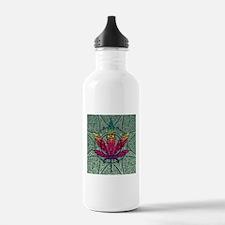 Marijuana Leaf Sports Water Bottle