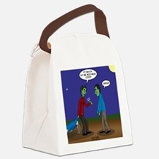 Zombie Fitness Canvas Lunch Bag