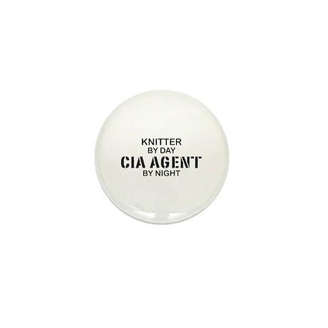 Kmitter CIA Agent Mini Button