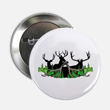 """Deer shed 3 2.25"""" Button"""