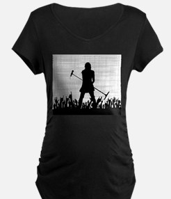 Singer on Stage Grung Maternity T-Shirt