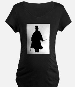 Jack the Ripper Silhouette Maternity T-Shirt