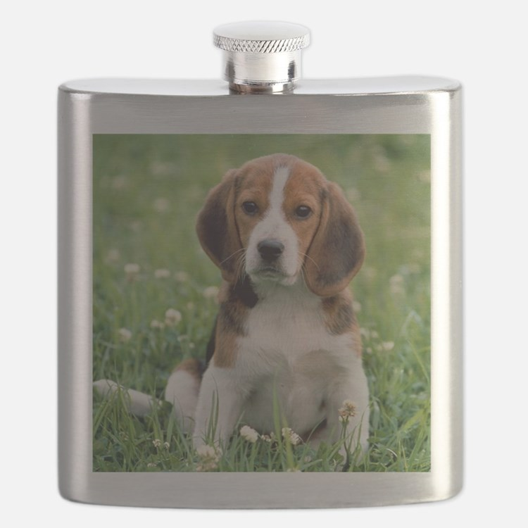 Cute Beagle Flask