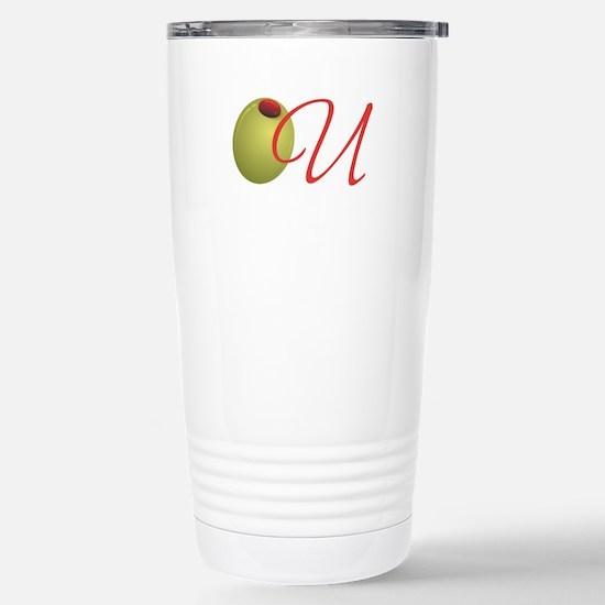Olive U Stainless Steel Travel Mug