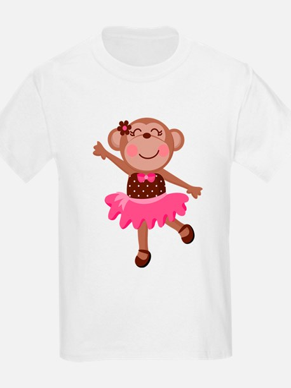 Monkey Ballerina T-Shirt