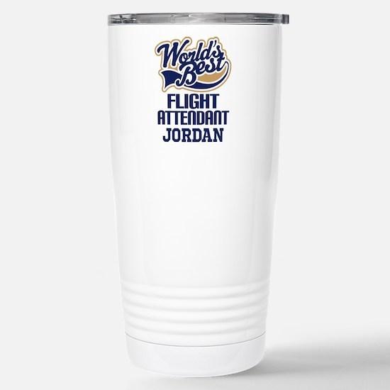Flight Attendant Personalized Gift Travel Mug