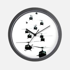 Huey Helicopters Wall Clock