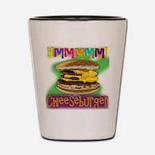Hmm Cheeseburger Shot Glass