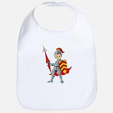 Let's Go Medieval - Jolly Good Knight Bib