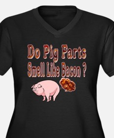 Pig Farts Plus Size T-Shirt