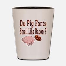 Pig Farts Shot Glass
