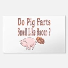 Pig Farts Decal