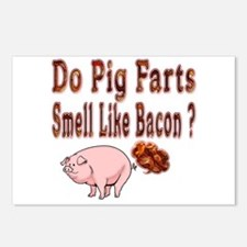 Pig Farts Postcards (package Of 8)
