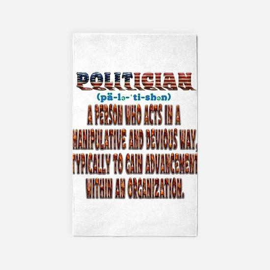 Politician Devious Area Rug