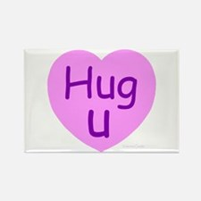 Hug U Candy! Rectangle Magnet