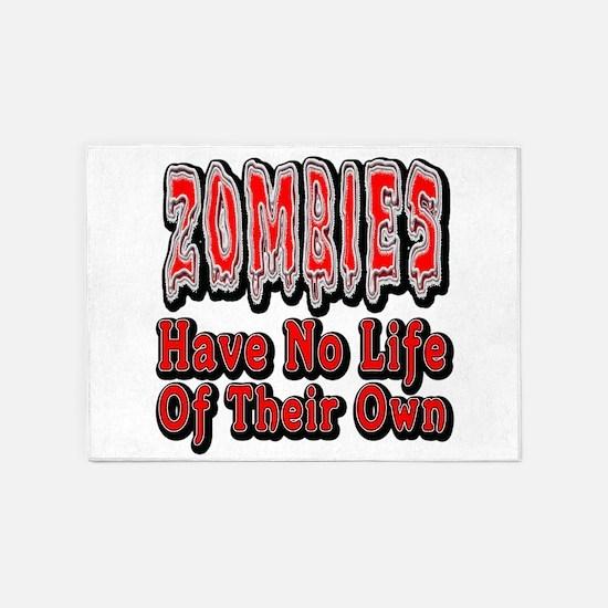 Zombies Life 5'x7'area Rug