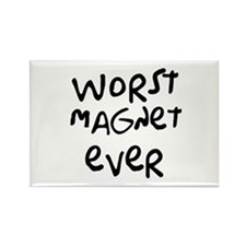 Worst Tee Shirt Ever Rectangle Magnet (10 pack)