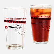 Funny Accomplish Drinking Glass