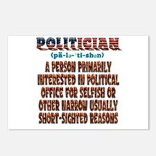 Politician Postcards (package Of 8)