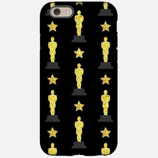 Gold Oscar Statue iPhone 6/6s Tough Case