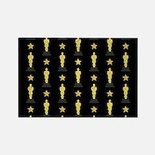 Gold Oscar Statue Magnets