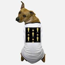 Gold Oscar Statue Dog T-Shirt