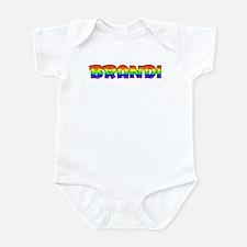 Brandi Gay Pride (#004) Infant Bodysuit