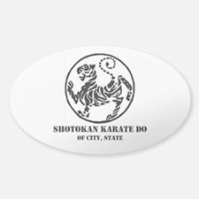 CREATE YOUR OWN PERSONALIZED SHOTOK Sticker (Oval)