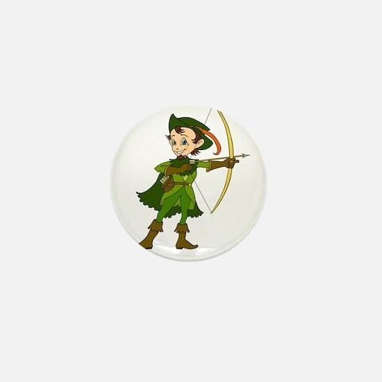 Let's Go Medieval - Forest Archer Mini Button