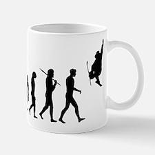 Slopestyle Skiing Evolution Mug