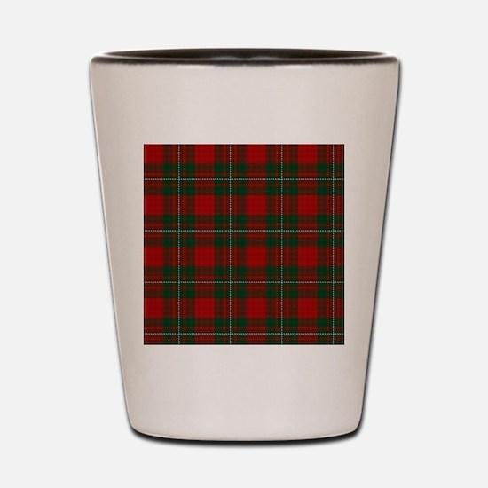 Cute Scottish clan tartan Shot Glass